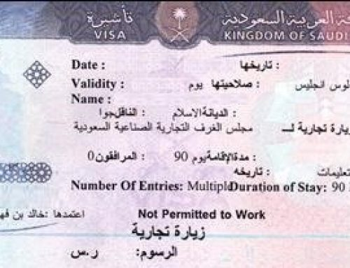 COMMERCIAL AND WORKING VISIT VISA – SAUDI ARABIA